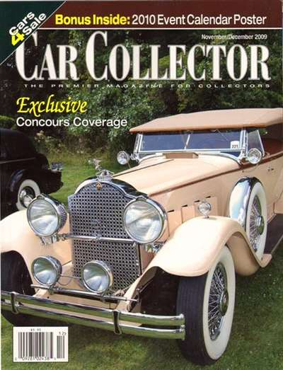 Car Collector Magazine Subscription