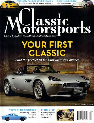 Classic Motorsports Magazine Subscription Canada