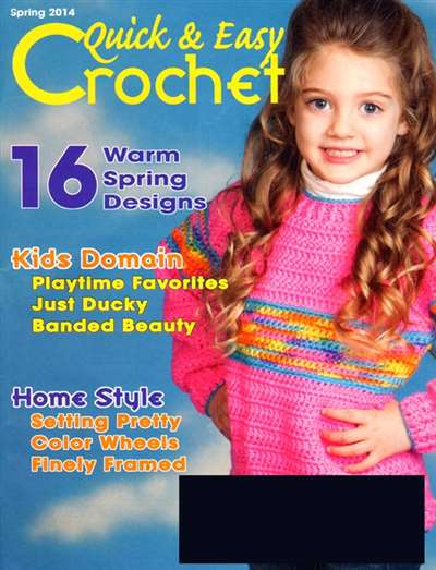 Quick And Easy Crochet Magazine Subscription Canada