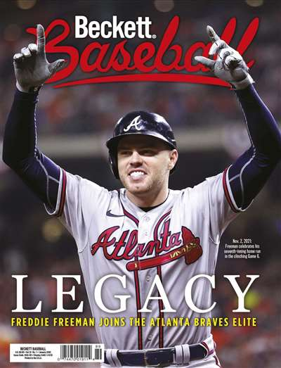 Beckett Baseball Magazine Subscription