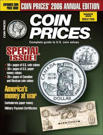 Coin Prices Magazine Subscription