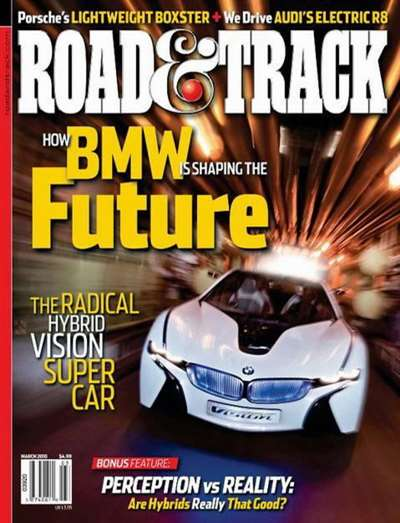 Car & Driver/Road & Track Magazine Subscription