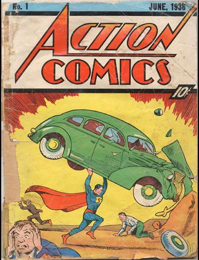 Action Comics Superman Magazine Subscription Canada