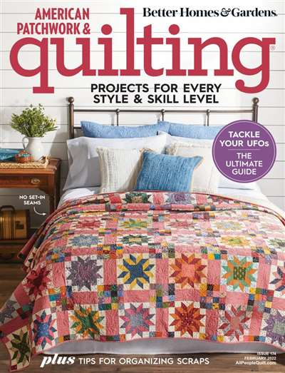 American Patchwork & Quilting Magazine Subscription Canada