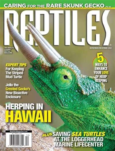 Reptiles Magazine Subscription Canada
