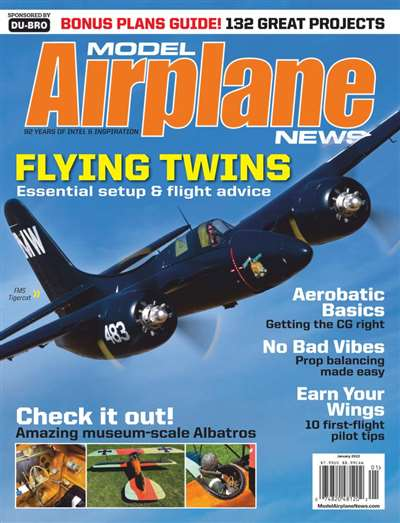 Model Airplane News Magazine Subscription Canada