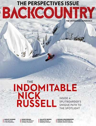 Back Country Magazine Subscription Canada