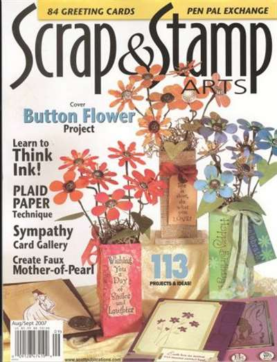 Scrap & Stamp Arts Magazine Subscription