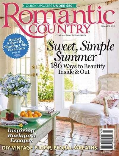 Romantic Country Magazine Subscription Canada