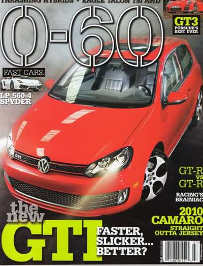 0-60 Magazine Subscription Canada