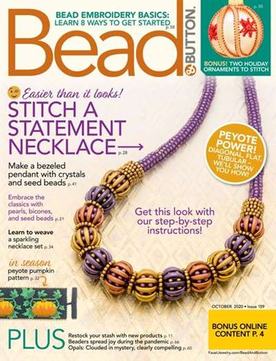 Bead & Button Magazine Subscription Canada