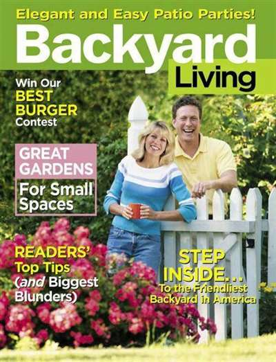 Backyard Living Magazine Subscription