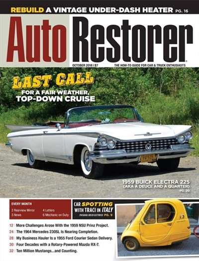 Auto Restorer Magazine Subscription Canada