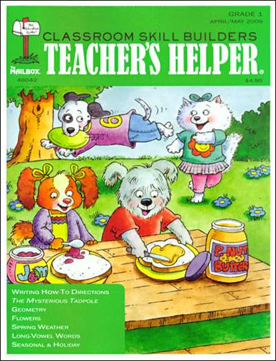 Teacher's Helper First Grade Magazine Subscription United States