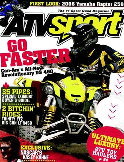 Atv Sport Magazine Subscription Canada