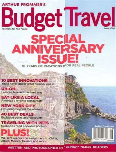 Arthur Frommers Budget Travel Magazine Subscription