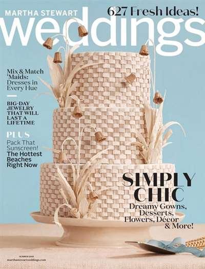Martha Stewart Weddings Magazine Subscription Canada
