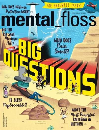 Mental Floss Magazine Subscription