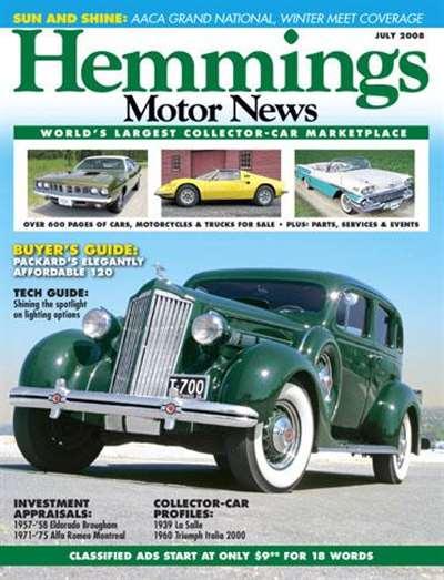 Hemmings Motor News Magazine Subscription
