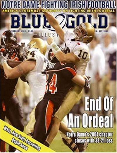 Blue & Gold Illustrated Magazine Subscription Canada