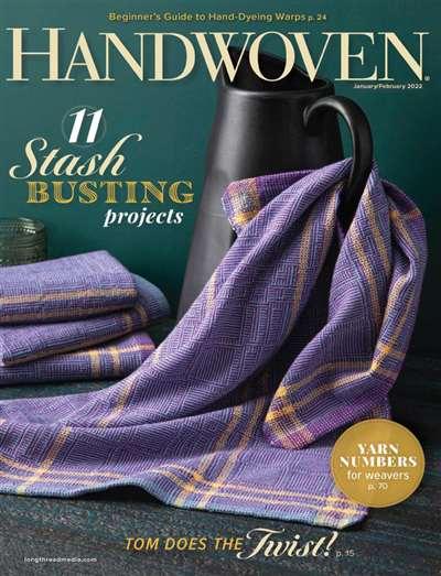 Handwoven Magazine Subscription Canada