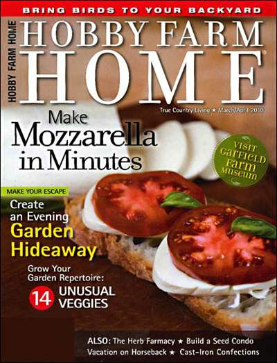 Hobby Farm Home Magazine Subscription Canada