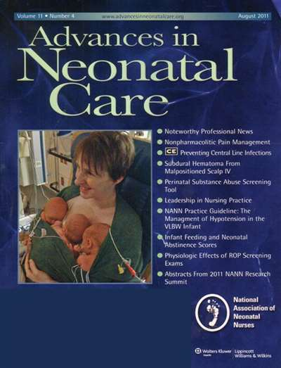 Advances In Neonatal Care Magazine Subscription Canada