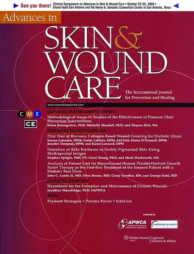 Advances In Skin & Wound Care Magazine Subscription Canada