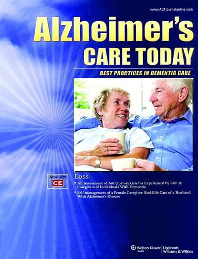 Alzheimers Care Today Magazine Subscription