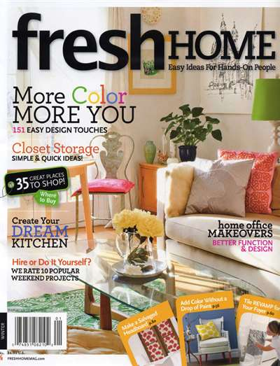 Fresh Home Magazine Subscription