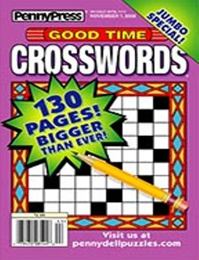 Good Time Crosswords Magazine Subscription Canada