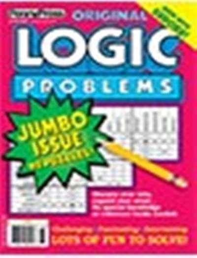 Original Logic Problems Magazine Subscription Canada