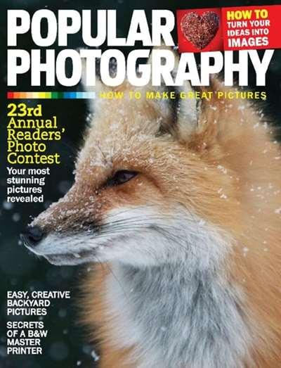 Popular Photography Magazine Subscription