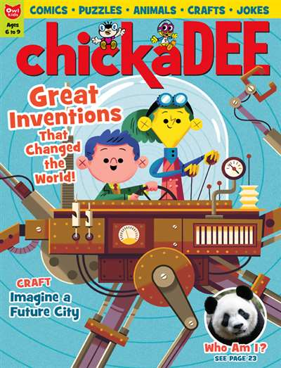 Chickadee (Canadian) Magazine Subscription