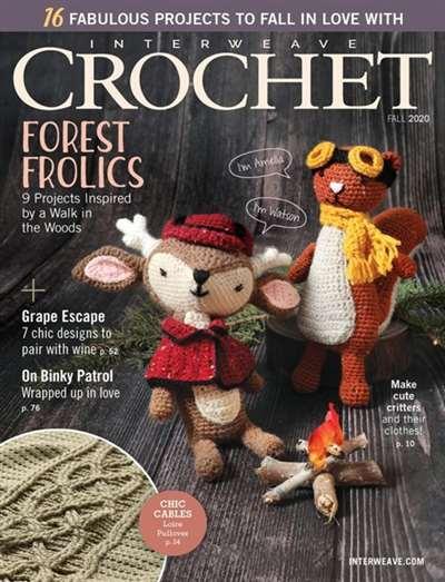 Interweave Crochet Magazine Subscription Canada