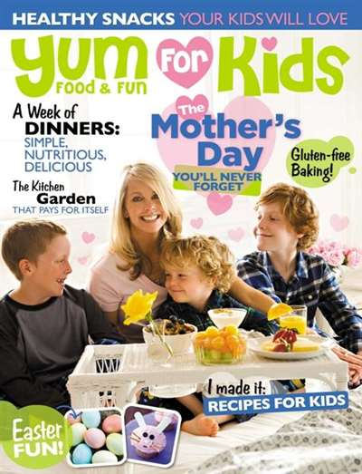 Yum Food & Fun For Kids Magazine Subscription