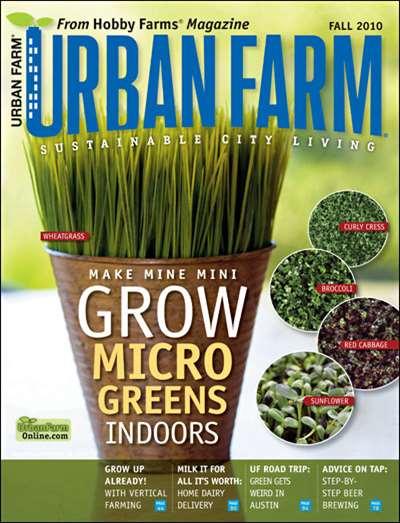 Urban Farm Magazine Subscription Canada