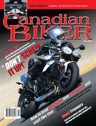 Canadian Biker Magazine Subscription
