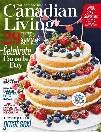 Canadian Living Magazine Subscription Canada