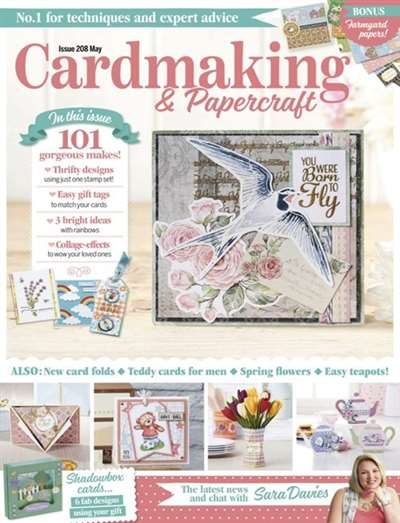 Card Making & Papercrafts Magazine Subscription