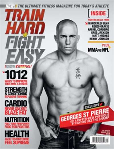 Train Hard Fight Easy Magazine Subscription