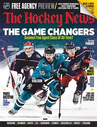 The Hockey News Magazine Subscription Canada