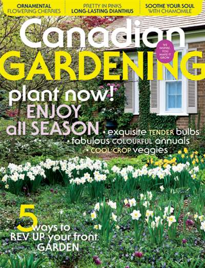 Canadian Gardening Magazine Subscription Canada