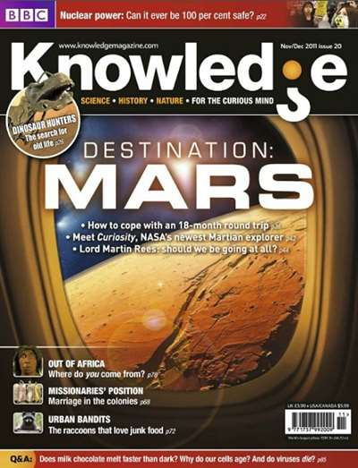 BBC Knowledge Magazine Subscription