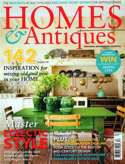 BBC Homes & Antiques Magazine Subscription United States