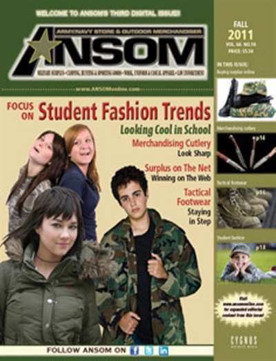 Ansom (Army Navy Store & Outdoor Merchandiser) Magazine Subscription