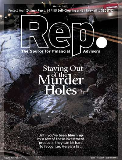 Registered Representative Magazine Subscription