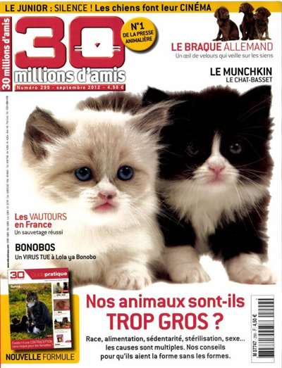 30 Millions D'amis Magazine Subscription Canada