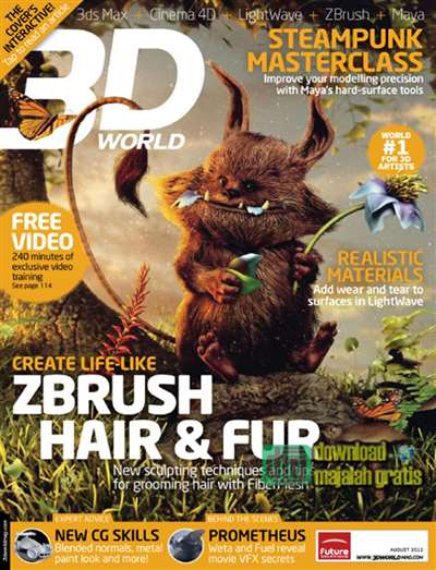 3D World Magazine Subscription Canada