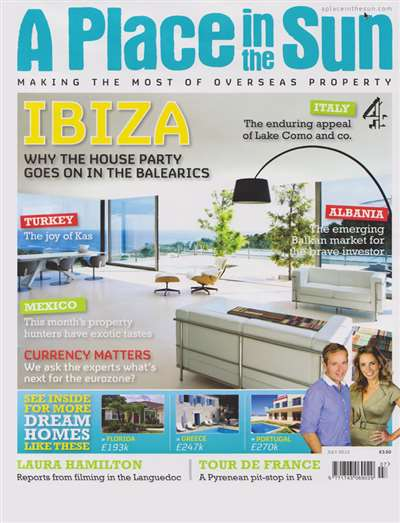 A Place In The Sun Magazine Subscription Canada